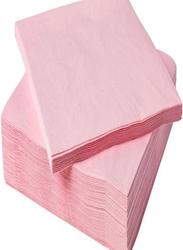 Paper Napkin, 50 Pieces, Pink