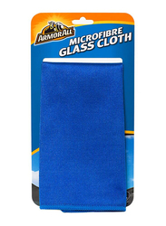 Armor All Microfiber Glass Cleaning Cloth, Blue