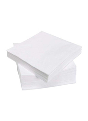 Solid Pattern Paper Napkin, 50 Pieces, White