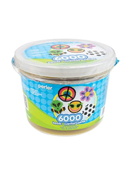 Perler Mix Fuse Beads Bucket, 6000 Pieces, Ages 6+