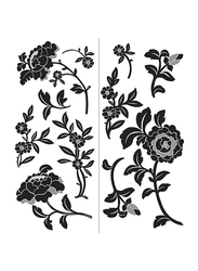 Wall Pops Brocade Large Wall Art Kit, 39x17.2 inch, Multicolour