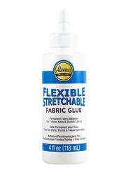 Aleene's Fabric Flexible Stretchable Glue, 118ml, Clear