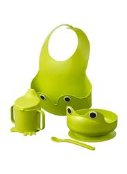 Mata Baby Food Storage Set, 4 Pieces, Green