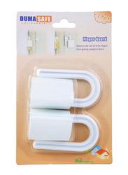 Duma Safe Finger Guard Set, 2 Pieces, White
