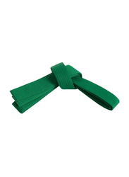 Riaz International Size 5 Martial Arts Grading Belt for Karate, Judo, Taekwondo Training and Competition, Green