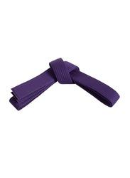 Riaz International Size 3 Martial Arts Grading Belt for Karate, Judo, Taekwondo Training and Competition, Purple