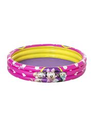 Bestway 3-Ring Minnie Pool, Multicolour