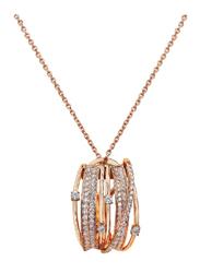 Liali Jewellery Midnight 18K Rose Gold Pendant for Women, Rose Gold