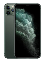 Apple iPhone 11 Pro Max 256GB Midnight Green, Without FaceTime, 4GB RAM, 4G LTE, Dual Sim Smartphone