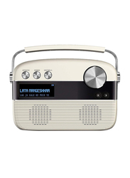 Saregama Carvaan SC01 Digital Music Wireless Portable Speaker, Porcelain White