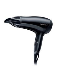 RemingtonPower Dry Hair Dryer, 2000W, RED3010, Black