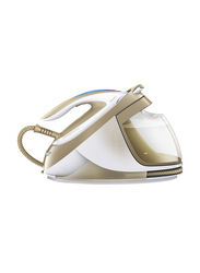 Philips PerfectCare Elite Steam Iron 2400W, GC 9642, White/Gold
