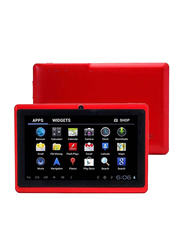 Wintouch Q75S 8GB Red 7-inch Tablet, 512MB RAM, WiFi Only