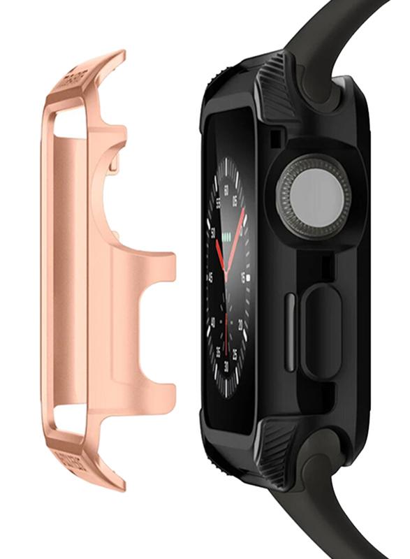 Spigen Tough Armor 2 Watch Case Cover for Apple Watch 42mm Series 3/2/1, Blush Gold
