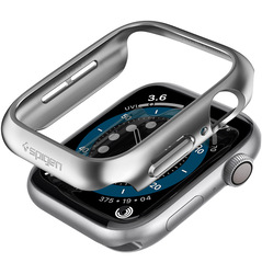 Spigen Apple Watch 44mm Series 6 / SE / 5/4 PC case cover Thin Fit, Graphite