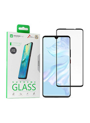 Amazing Thing Huawei P30 Supreme Glass 2.5D Full Glue Tempered Screen Protector, Clear
