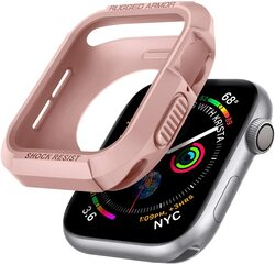 Spigen Apple Watch 40mm Series 6 /SE/5/4 TPU case cover Rugged Armor, Rose Gold