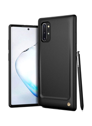 Vrs Design Samsung Galaxy Note 10/Note 10 Plus 5G Damda Single Fit Mobile Phone Case Cover, Black