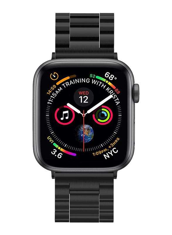 Spigen Modern Fit Watch Band for Apple Watch 44mm Series 5/4 and Apple Watch 42mm Series 3/2/1, Black
