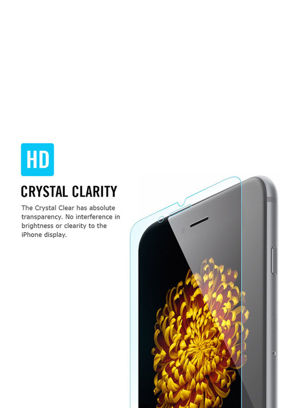 Spigen Apple iPhone 6 Plus (5.5 inch) Ultra Crystal Dual Screen & Back Protector, Clear