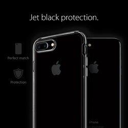 Spigen Apple iPhone 7 Plus Neo Hybrid Crystal Mobile Phone Case Cover, Jet Black