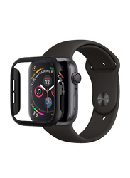 Spigen Thin Fit Watch Case Cover for Apple Watch 44mm Series 4, Black
