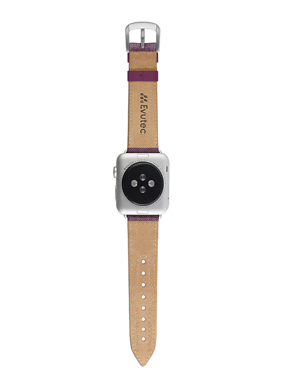Evutec Northill Series Watch Band for Apple Watch 40mm/38mm Series 4/3/2/1, Opal Fusion