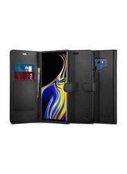 Spigen Samsung Galaxy Note 9 Wallet S Mobile Phone Case Cover, Black