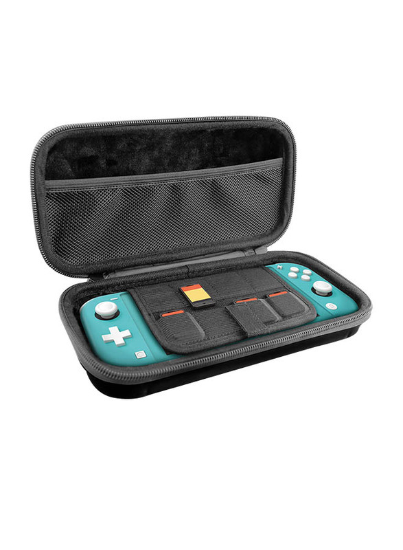 Gamewill ABS Hard Shell Travel Case for Nintendo Switch Lite, Black