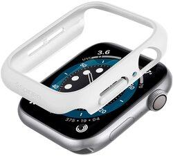 Spigen Apple Watch 44mm Series 6 / SE / 5/4 PC case cover Thin Fit, White