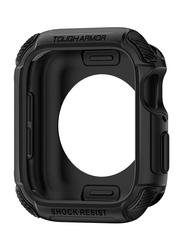 Spigen Tough Armor Watch Case Cover for Apple Watch 44mm Series 4, Black
