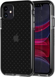Tech21 Apple iPhone 11 case cover Evo Check, Smokey Black