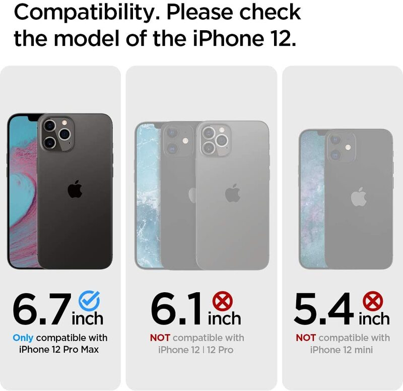 Spigen Apple iPhone 12 Pro MAX Case Cover Ultra Hybrid, Red