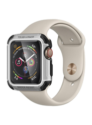 Spigen Tough Armor Watch Case Cover for Apple Watch 44mm Series 4, Silver