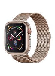 Spigen Liquid Crystal Watch Case Cover for Apple Watch 44mm Series 4, Crystal Clear
