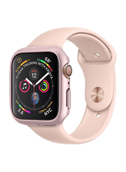 Spigen Thin Fit Watch Case Cover for Apple Watch 44mm Series 4, Rose Gold