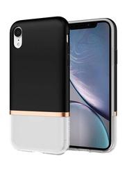 Spigen Apple iPhone XR La Manon Jupe Mobile Phone Case Cover, Milk Black