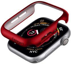 Spigen Apple Watch 44mm Series 6 / SE / 5/4 PC case cover Thin Fit, Red