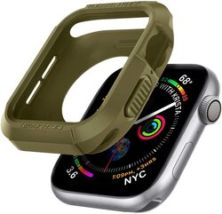 Spigen Apple Watch 40mm Series 6 /SE/5/4 TPU case cover Rugged Armor, Olive Green