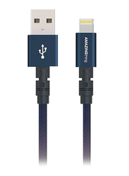 Amazing Thing 1.1-Meter Powermax Plus Lightning Cable, 3.2A USB A to Lightning Cable, MFi Certified, Fast Charge Robust 55kg Resistance 50000 Bend test 19AWG for Apple iPhone/iPad/iPod, Dark Blue