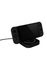 Gamewill 90° Rotating Charging Bracket for Nintendo Switch, Black