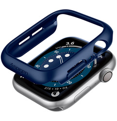 Spigen Apple Watch 44mm Series 6 / SE / 5/4 PC case cover Thin Fit, Blue