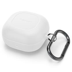 Spigen Samsung Galaxy Buds Pro and Galaxy Buds Live Silicone Case Cover Silicone Fit, White