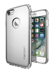Spigen Apple iPhone 7 Hybrid Armor Mobile Phone Case Cover, Satin Silver