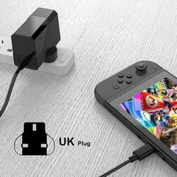 Gamewill UK Wall Charger Fast Charger with AC Adapter for Nintendo Switch, Black