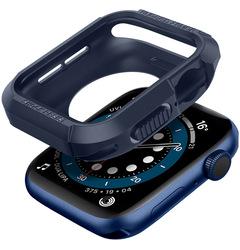 Spigen Apple Watch 40mm Series 6 /SE/5/4 TPU case cover Rugged Armor, Navy Blue