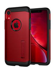 Spigen Apple iPhone XR Slim Armor Mobile Phone Case Cover, Merlot Red
