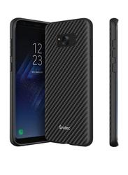 Evutec Samsung Galaxy S8 Plus AER Series Mobile Phone Case Cover, with AFIX Air Vent Magnetic Car Mount, Karbon Black