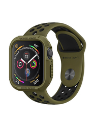 Spigen Rugged Armor Watch Case Cover for Apple Watch 44mm Series 4, Olive Green
