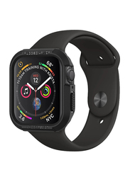 Spigen Rugged Armor Watch Case Cover for Apple Watch 40mm Series 4, Black